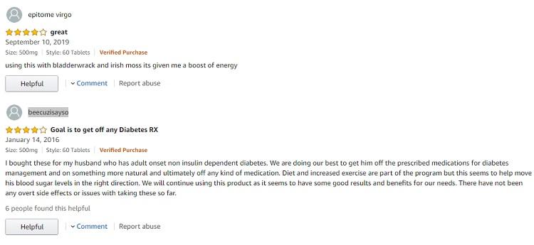 Phản hồi từ phía khách hàng sử dụng viên uống Natrol Cinnamon Biotin Chromium 1