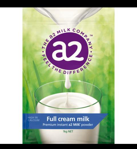 Sữa nguyên kem dạng bột A2 Úc (mẫu mới)