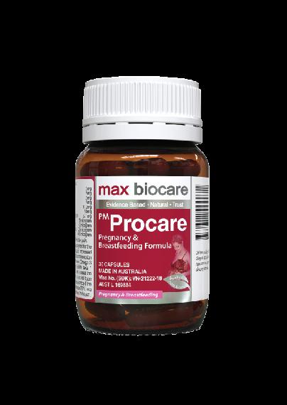 Vitamin Max Biocare PM Procare cho bà bầu