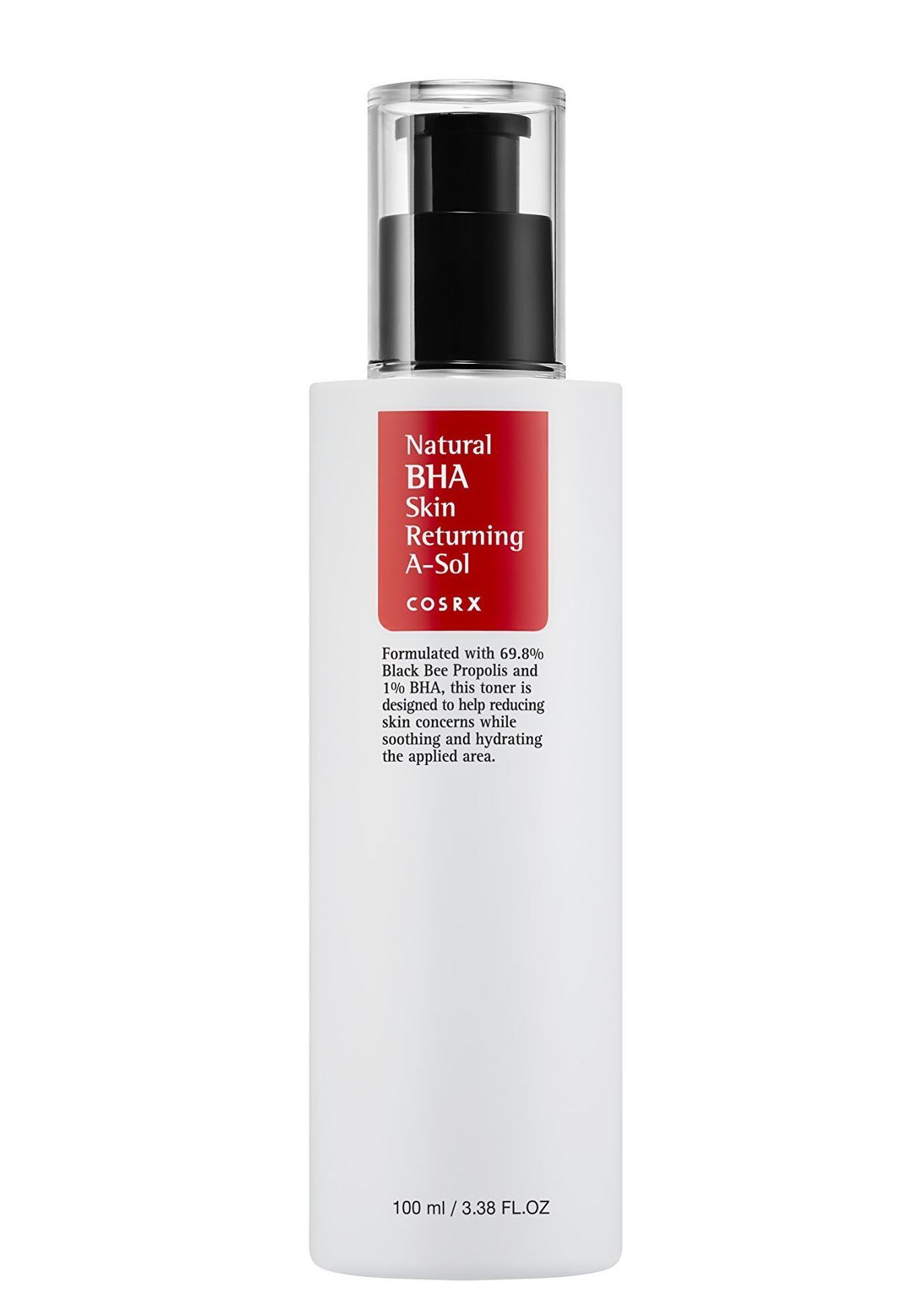Nước hoa hồng kiềm dầu trị mụn Cosrx Natural BHA Skin