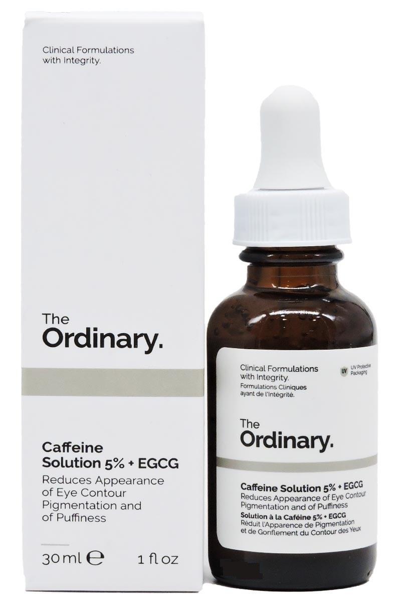 Serum The Ordinary Caffeine hỗ trợ cải thiện thâm quầng mắt, bọng mắt