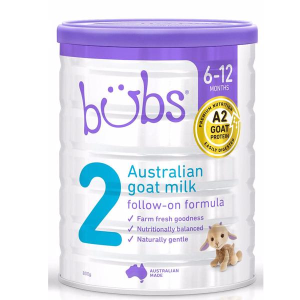Sữa Dê của Úc Bubs