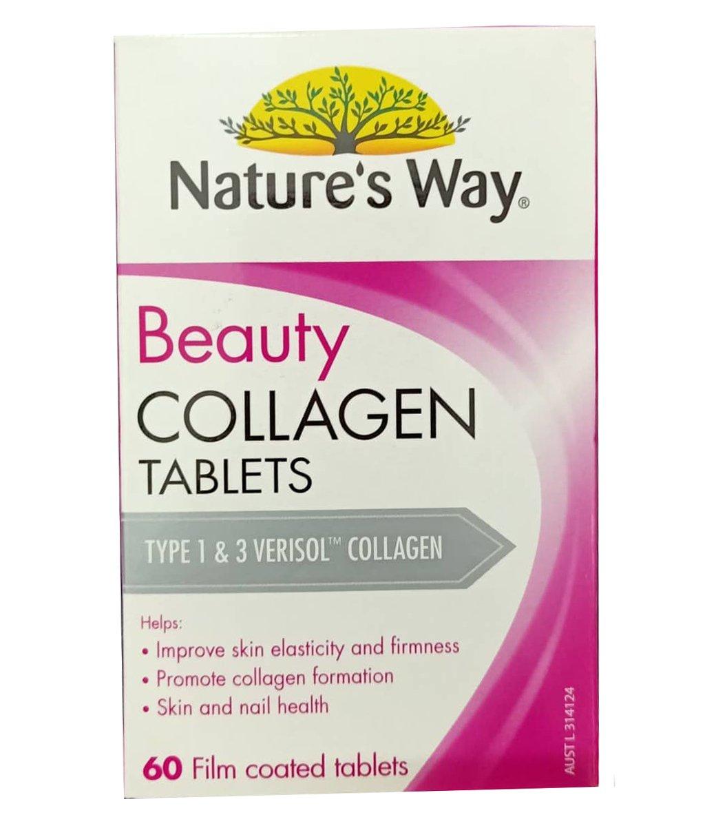 Viên uống Collagen Nature's Way mẫu mới