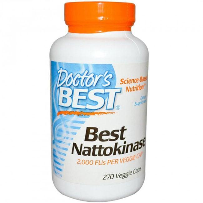 thuốc hỗ trợ tim mạch Doctor's Best Nattokinase