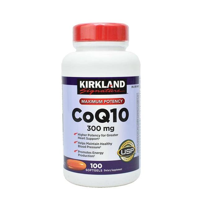 thuốc hỗ trợ tim mạch Kirkland CoQ10 300mg
