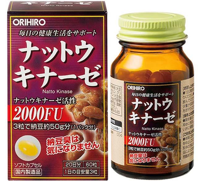 thuốc hỗ trợ tim mạch Nattokinase 2000FU
