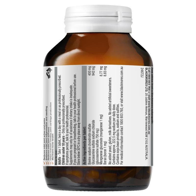Viên uống Blackmores Joint Formula Advanced hỗ trợ tốt với sức khỏe xương khớp