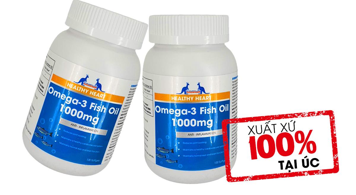 Viên uống dầu cá Omega 3 Augoldhealth