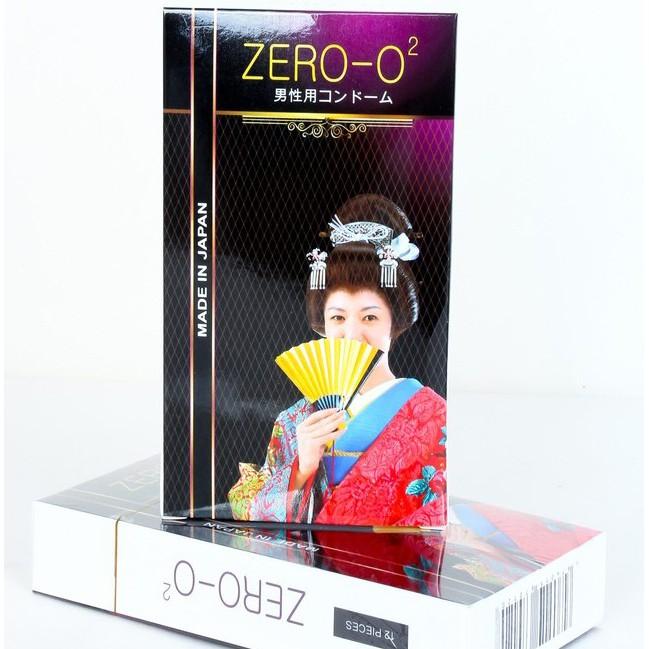 Bao cao su Zero O2 siêu mỏng