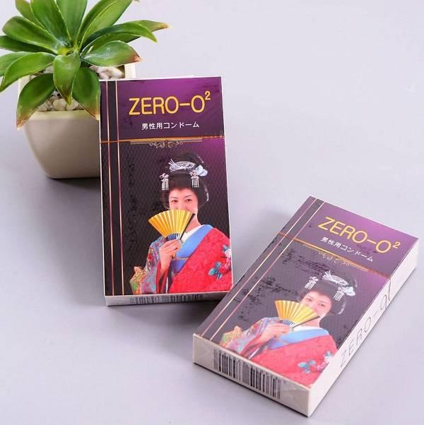 Bao cao su Zero O2 siêu mỏng cho cuộc yêu thêm sâu