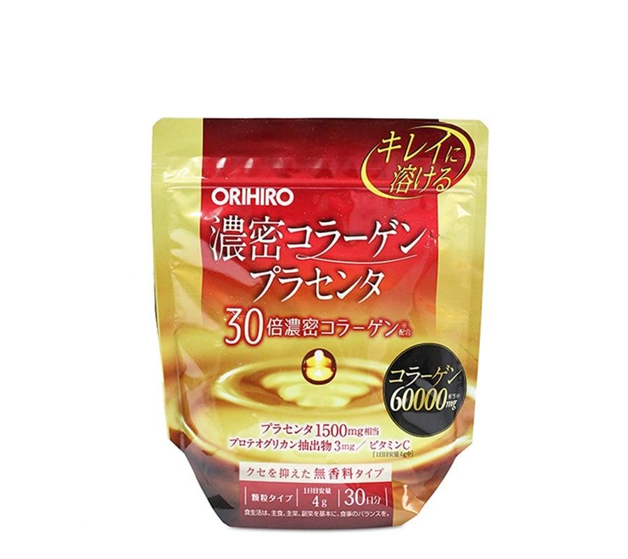 Bột Collagen nhau thai heo Orihiro 6000mg