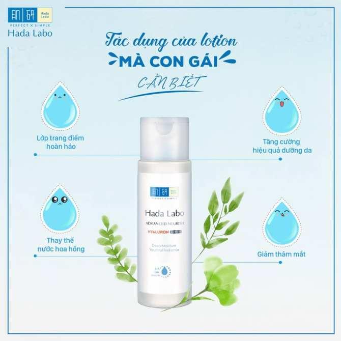 Dung dịch dưỡng ẩm Hada Labo Advanced Nourish Lotion chính hãng