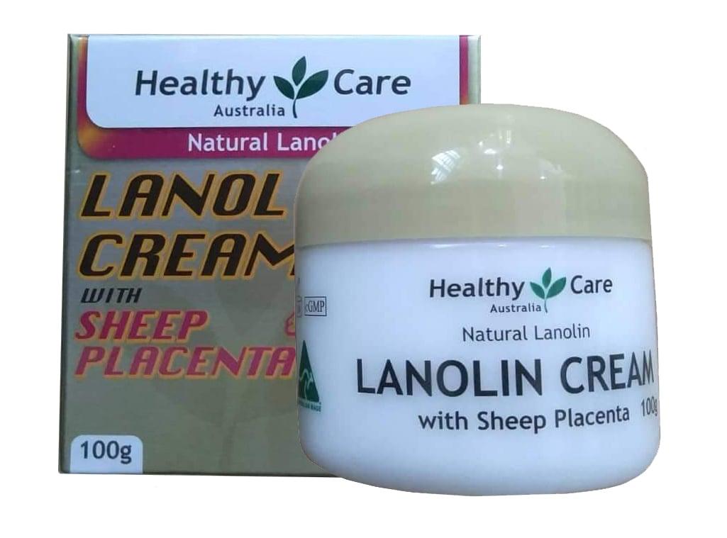kem dưỡng Da Healthy Care Lanolin Cream With Sheep Placenta