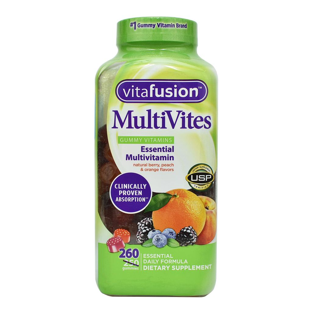 Kẹo dẻo bổ sung Vitamin Vitafusion MultiVites Gummy vị trái cây