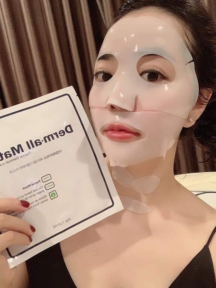 Mặt nạ Derm-All Matrix hàn quốc hỗ trợ dưỡng trắng hiệu quả