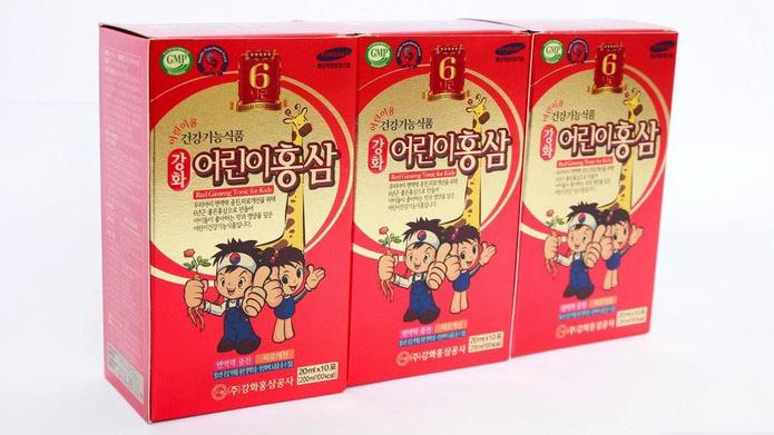 Nước hồng sâm hươu cao cổ Kanghwa Hàn Quốc