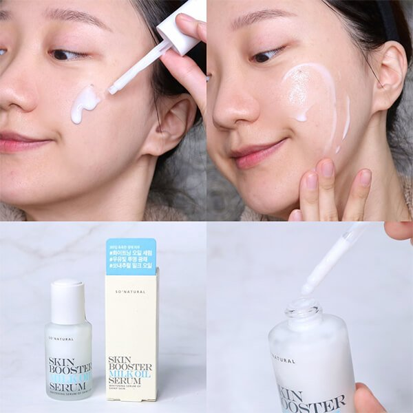 Serum So'natural skin booster milk oil chính hãng
