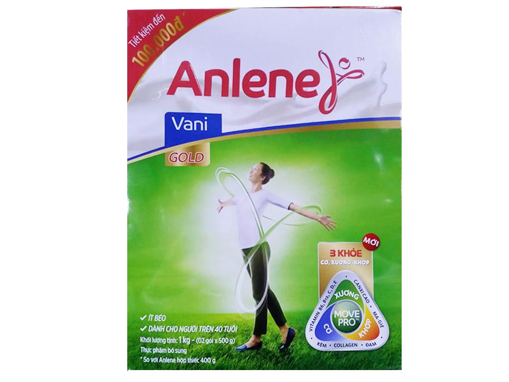 Sữa bột Anlene Gold Movepro hương Vani
