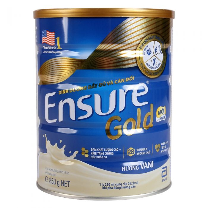 Sữa Ensure Gold 850g