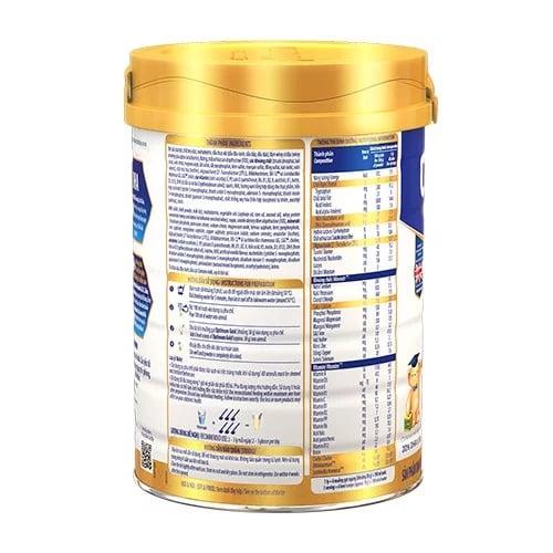 Thành phần sữa bột Optimum gold HMO 3