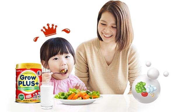 Sữa Bột Nuti Grow plus đỏ cho bé phát triển toàn diện