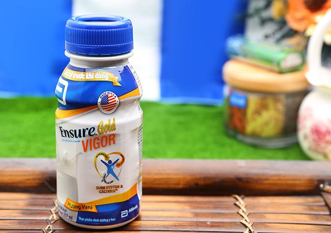 Sữa nước Ensure Gold Vigor 237ml chuẩn chất lượng