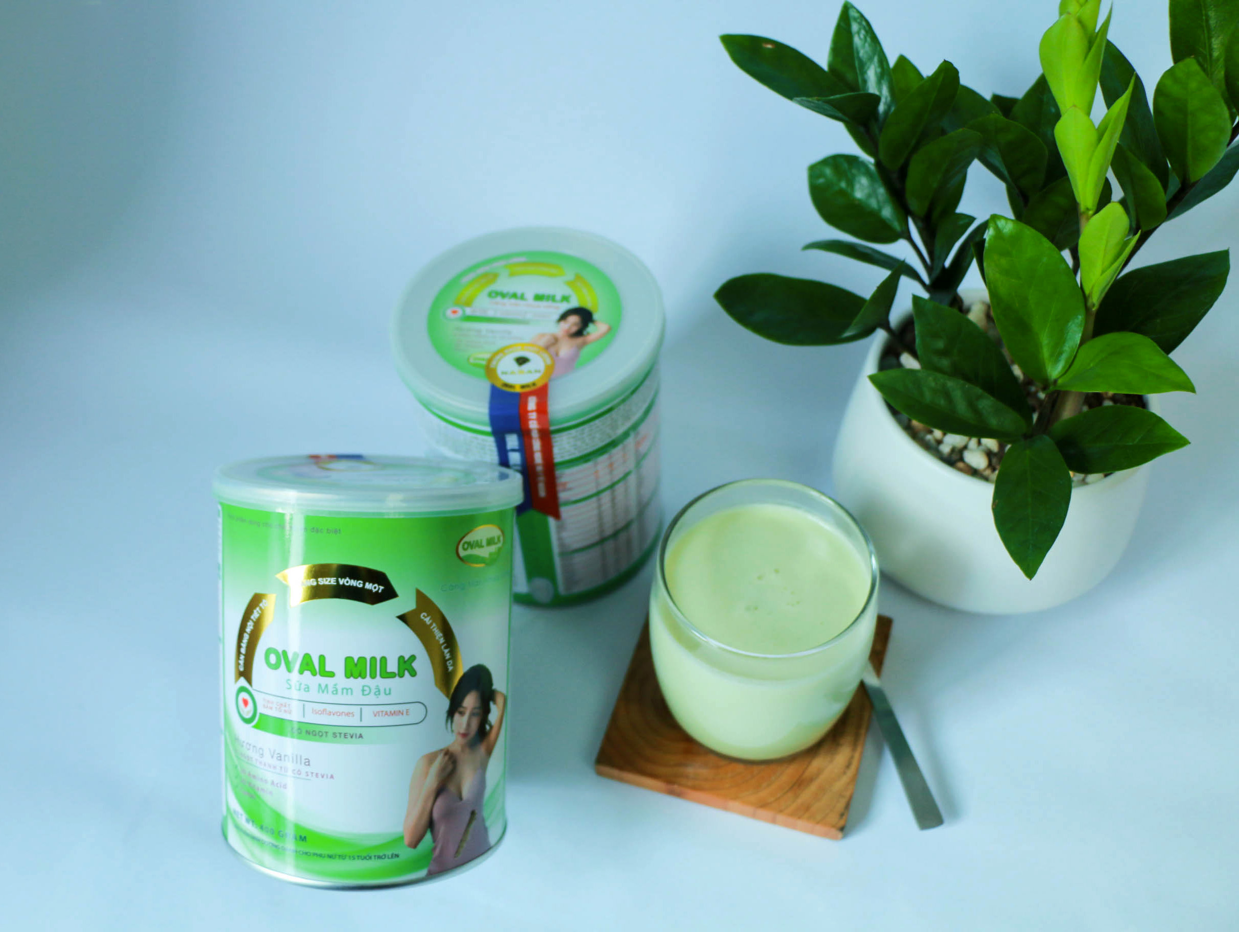Sữa Oval Milk tăng vòng 1 cho vóc dáng quyến rũ