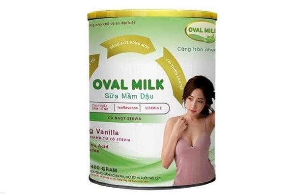 Sữa Oval Milk tăng vòng 1