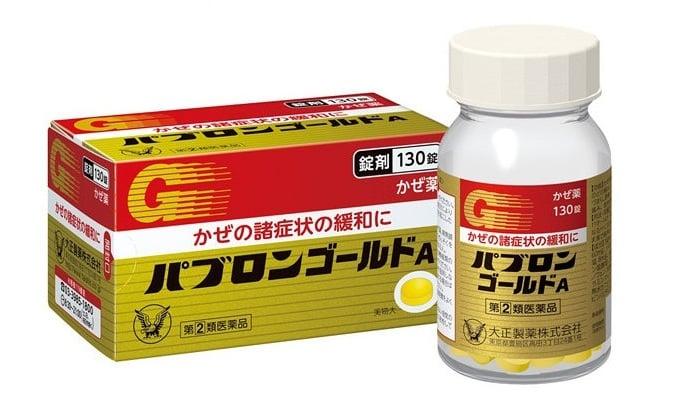 Taisho Pabron Gold A cải thiện cúm cho trẻ