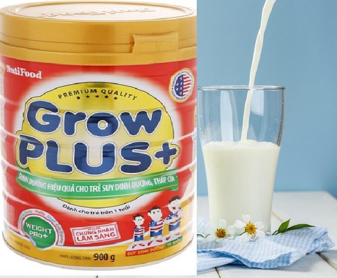 Sữa Bột Nuti Grow plus đỏ chính hãng