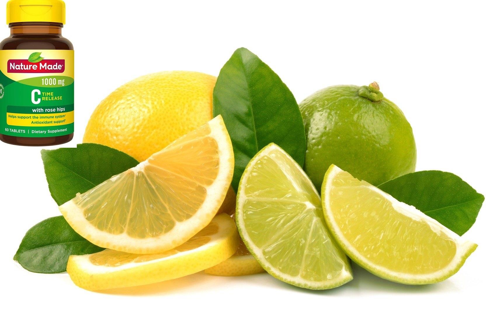 Viên uống bổ sung hàm lượng vitamin C 1000mg