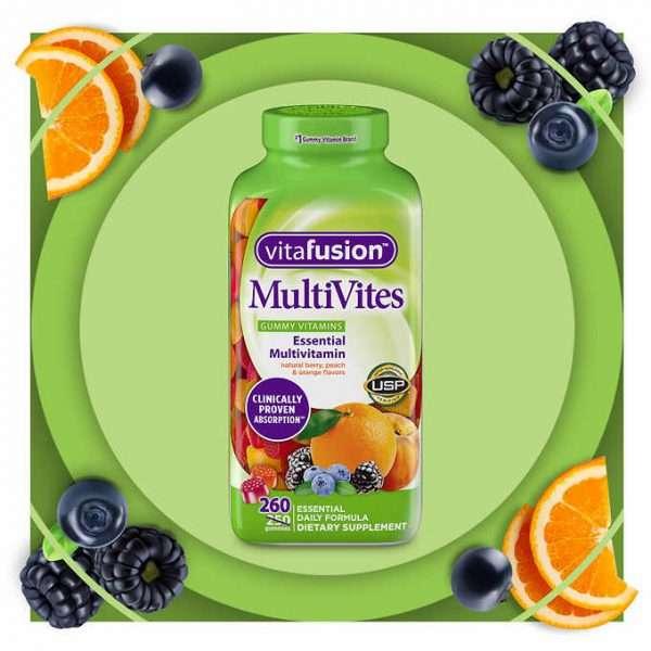 Kẹo dẻo bổ sung Vitamin Vitafusion MultiVites Gummy hương vị thơm ngon