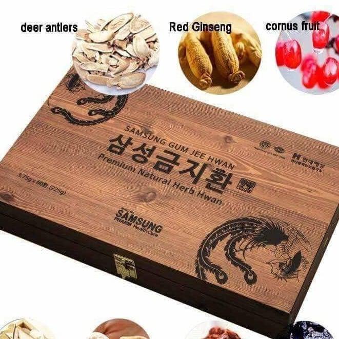 An cung ngưu hoàng hoàn Hàn Quốc thành phần là các vị đông y quý