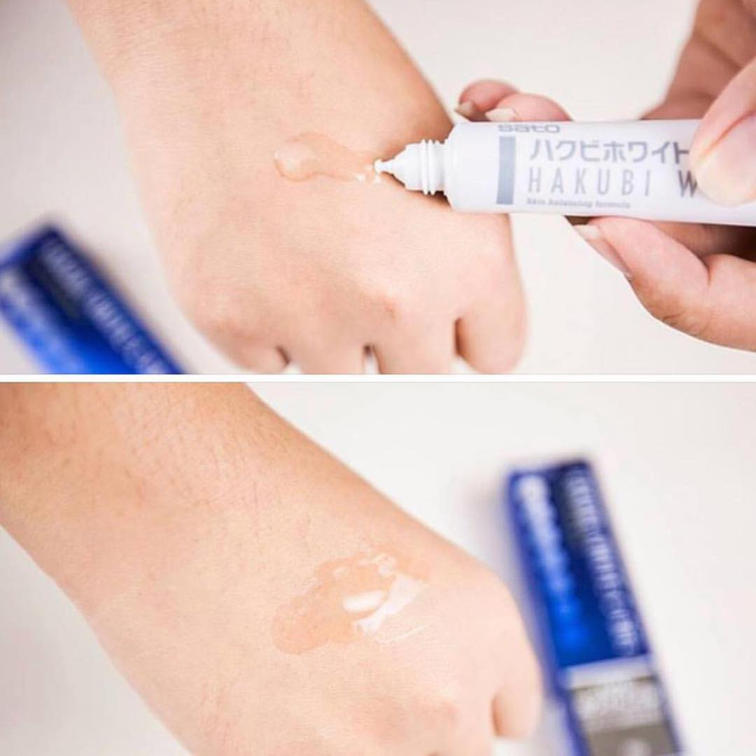 Gel dưỡng trắng da HAKUBI White C Gel chăm sóc da hiệu quả