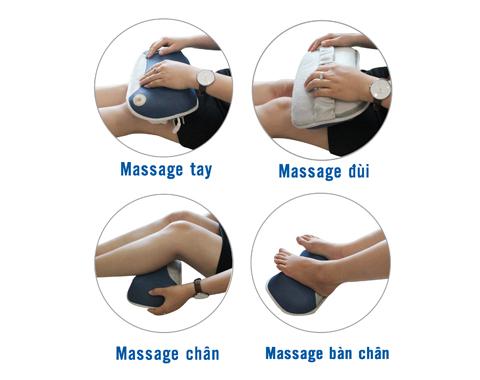 Tác động massage đa năng