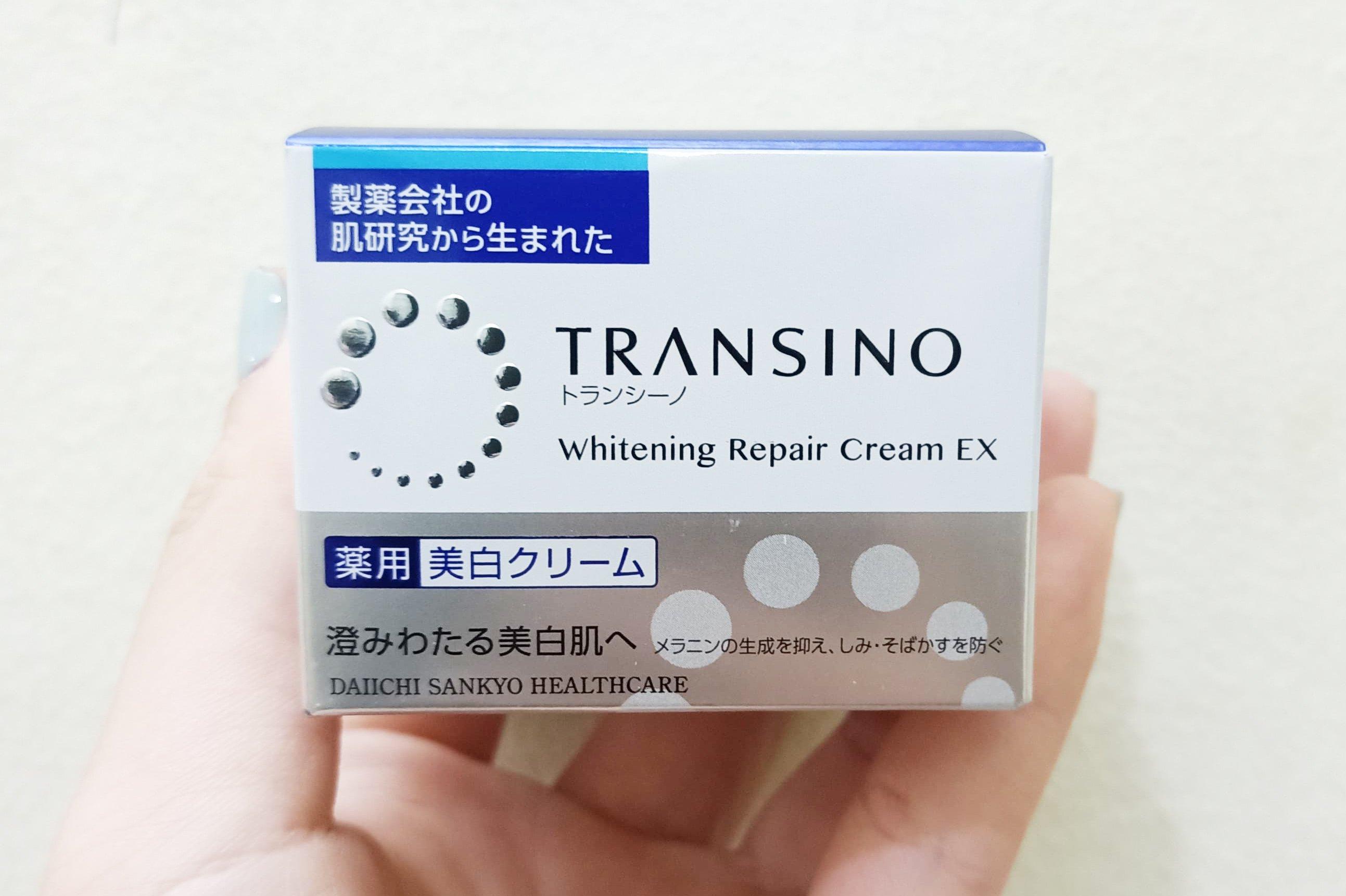Kem dưỡng trắng Transino Whitening Repair Cream mẫu mới