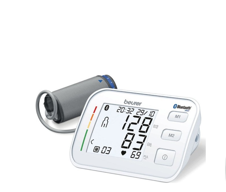 Máy đo huyết áp bắp tay Beurer BM57 hỗ trợ bluetooth truyền thông tin theo dõi sức khỏe