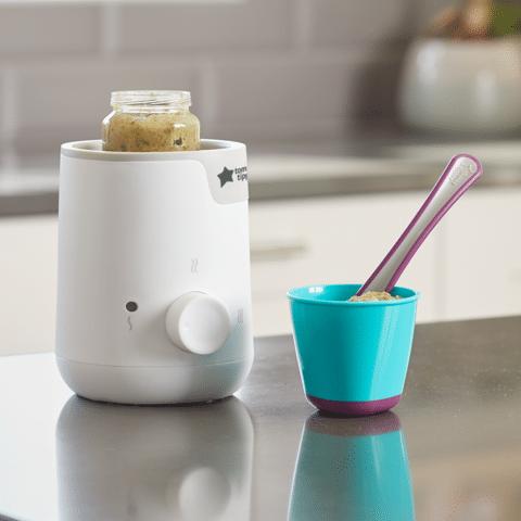Máy hâm sữa và thức ăn cho bé Tommee Tippee Easi-Warm nhiệt độ tiêu chuẩn