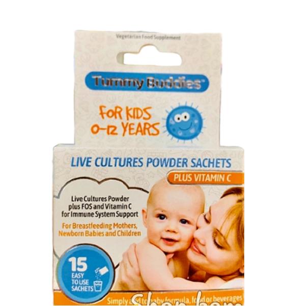 Men vi sinh Tummy Buddies cho trẻ từ 0 – 12 của Mỹ