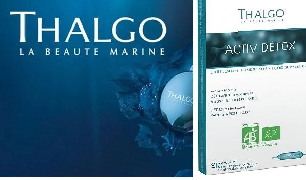 Nước uống thải độc thanh lọc cơ thể Thalgo Activ Detox làm đẹp hiệu quả