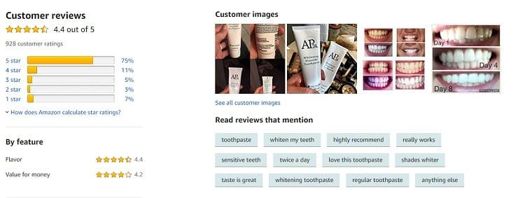 Phản hồi từ phía khách hàng sử dụng kem đánh răng AP24 (3)