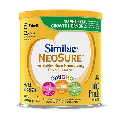 Sữa similac Neosure dạng bột mẫu mới nhất