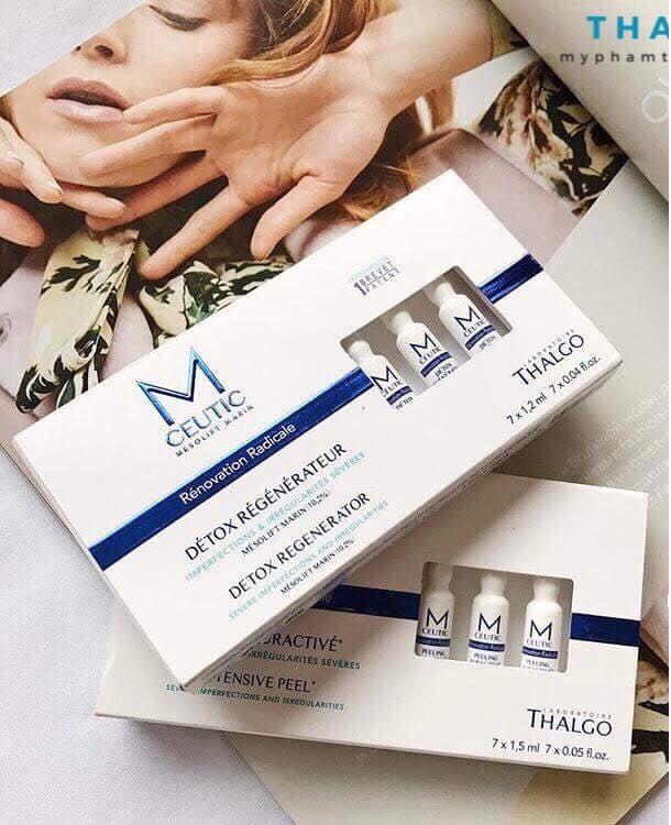 Tinh chất Thalgo Mceutic Detox Regenerator hỗ trợ thanh lọc da
