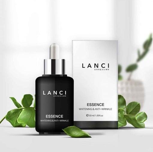 Serum Lanci Essence Whitening & Anti-Wrinkle dưỡng trắng da tối ưu
