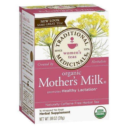 Trà lợi sữa organic mother's milk của Mỹ mẫu cũ 2019