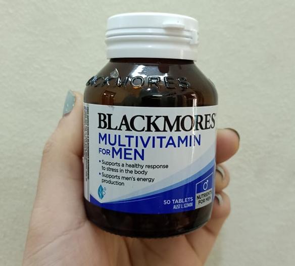 Viên uống hỗ trợ sinh lý nam Blackmores