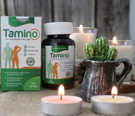 Viên uống hỗ trợ tăng cân Tamino an toàn cho cơ thể