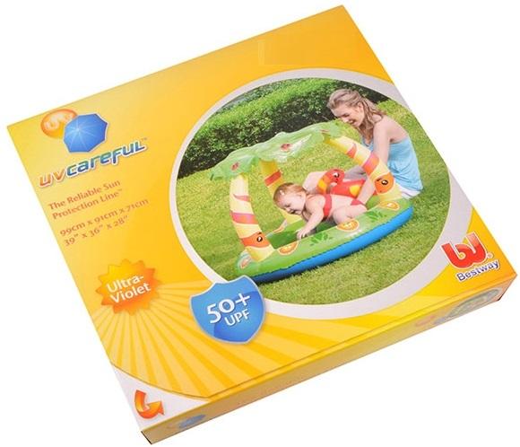 Hộp bể bơi phao cho bé tại nhà