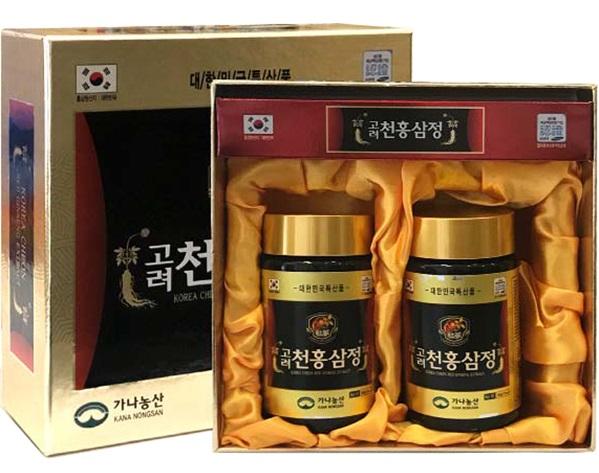 Hộp 2 lọ cao hồng sâm Kana Hàn Quốc