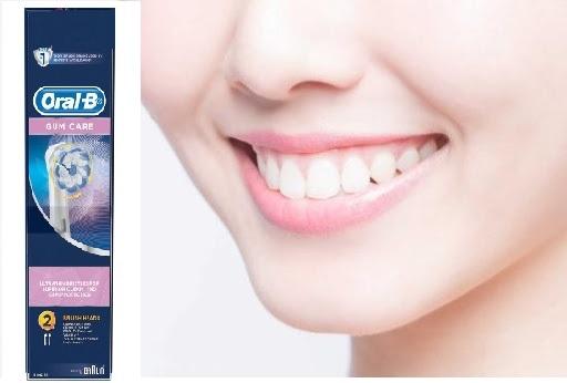 Đầu bàn chải đánh răng Oral-B Gum Care bảo vệ lớp men răng